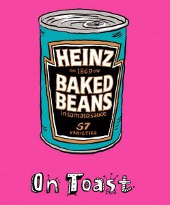 Beanz on toast